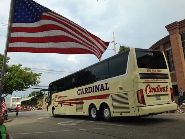 Cardinal Buses supports our military