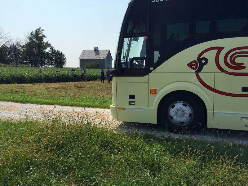 Cardinal Buses on Agricultural Tour
